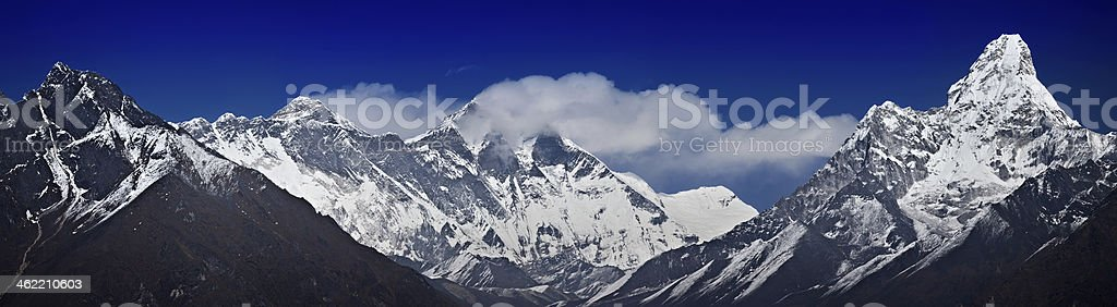 Main Himalayan Range stock photo