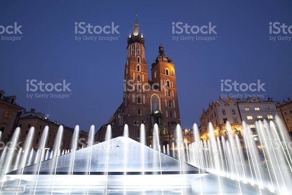 Main Market square stock photo