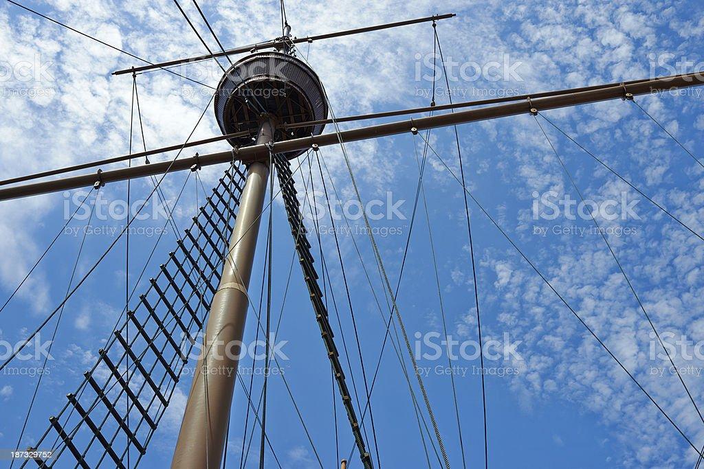 Main Mast stock photo