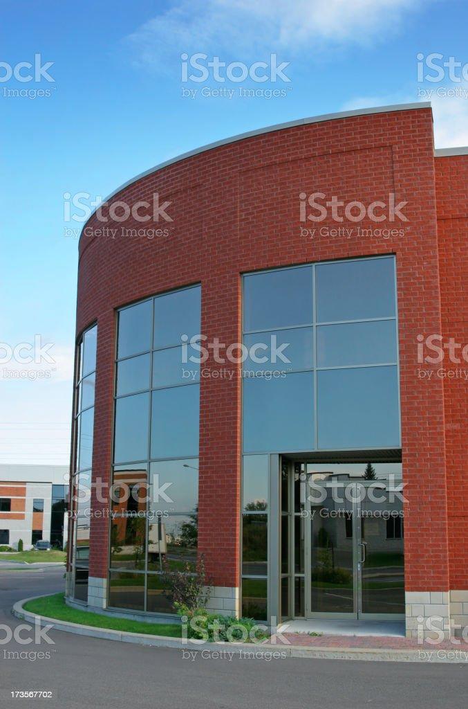Main Office Building Entrance stock photo