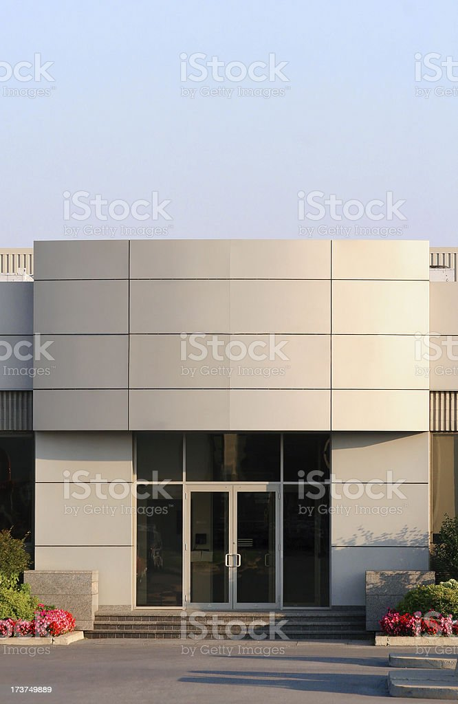 Main Office Building Entrance royalty-free stock photo