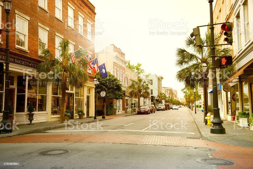Main Street, Charleston, South Carolina stock photo