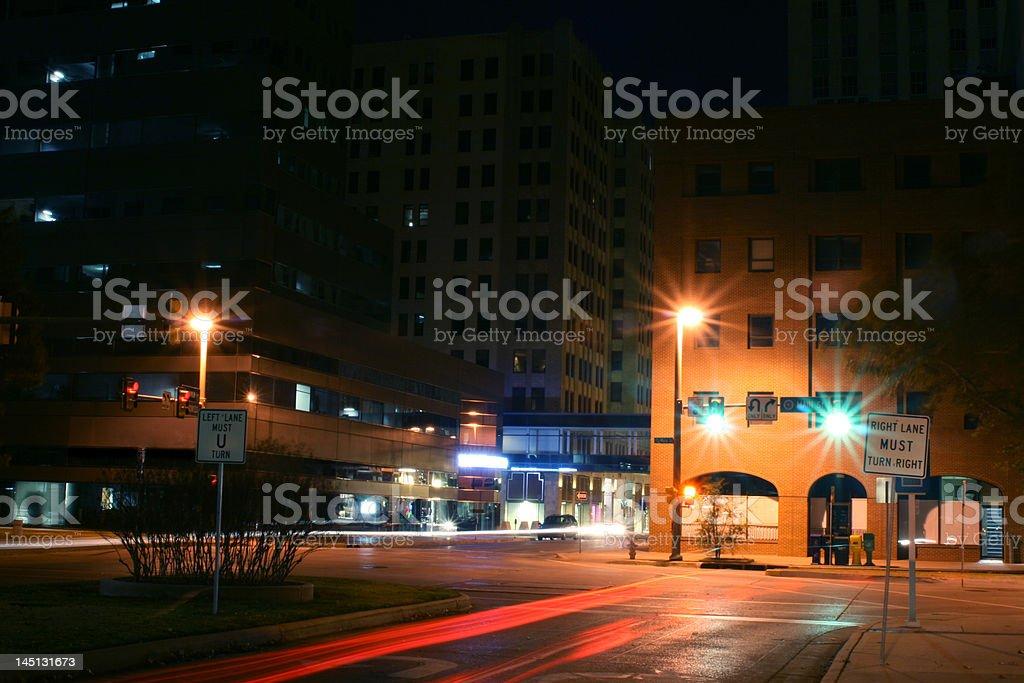 Main Street royalty-free stock photo