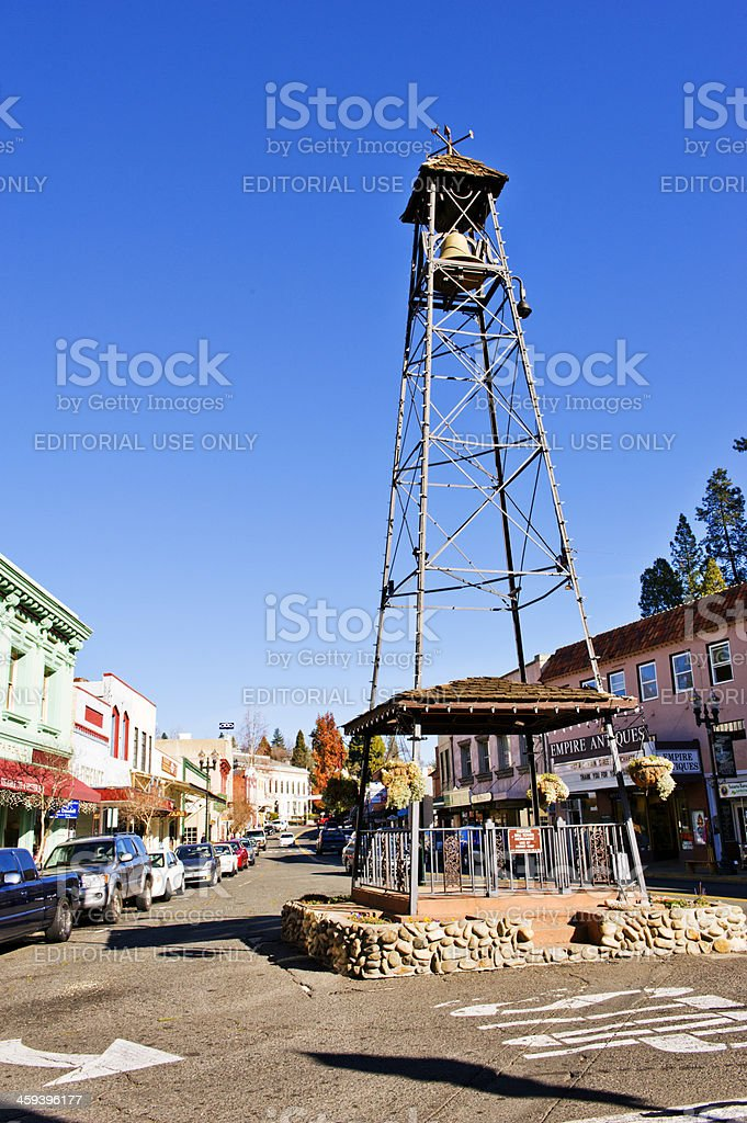Main Street Placerville, California stock photo