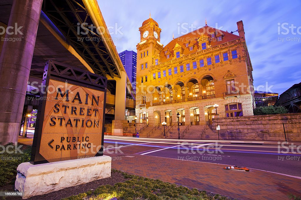 Main Street Station In Richmond, Virginia royalty-free stock photo