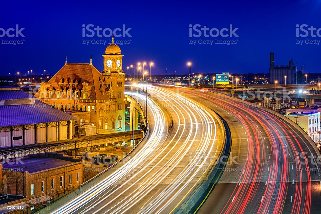 Main Street Station of Richmond stock photo