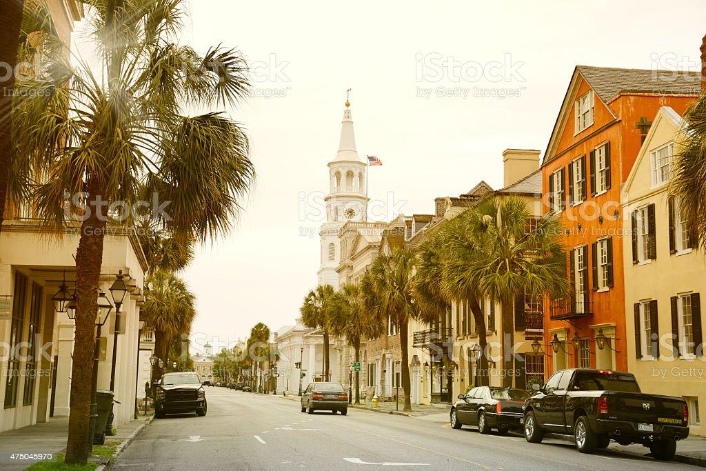 Main Street,Charleston,South Carolina stock photo