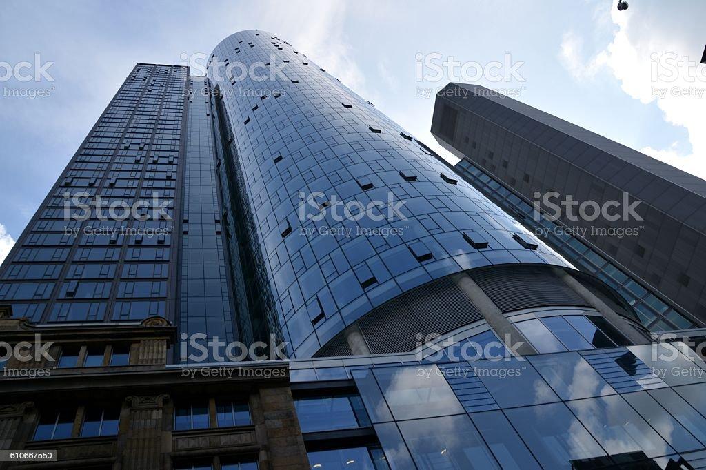 Main tower, Frankfurt, Germany stock photo