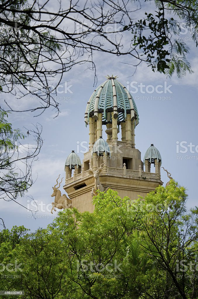 Main tower of The Palace Sun City royalty-free stock photo