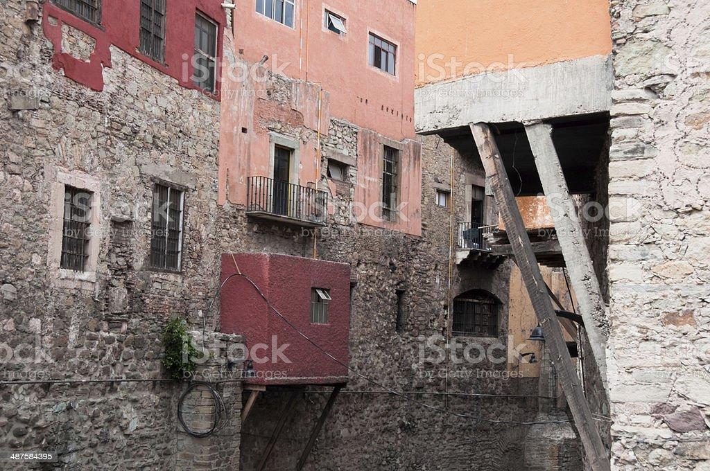 Main tunnel (Hidalgo street), Guanajuato (Mexico) stock photo