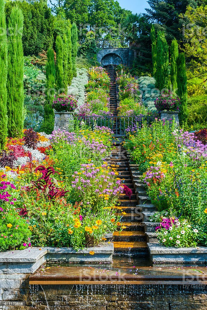 Mainau island at Bodensee, Germany stock photo