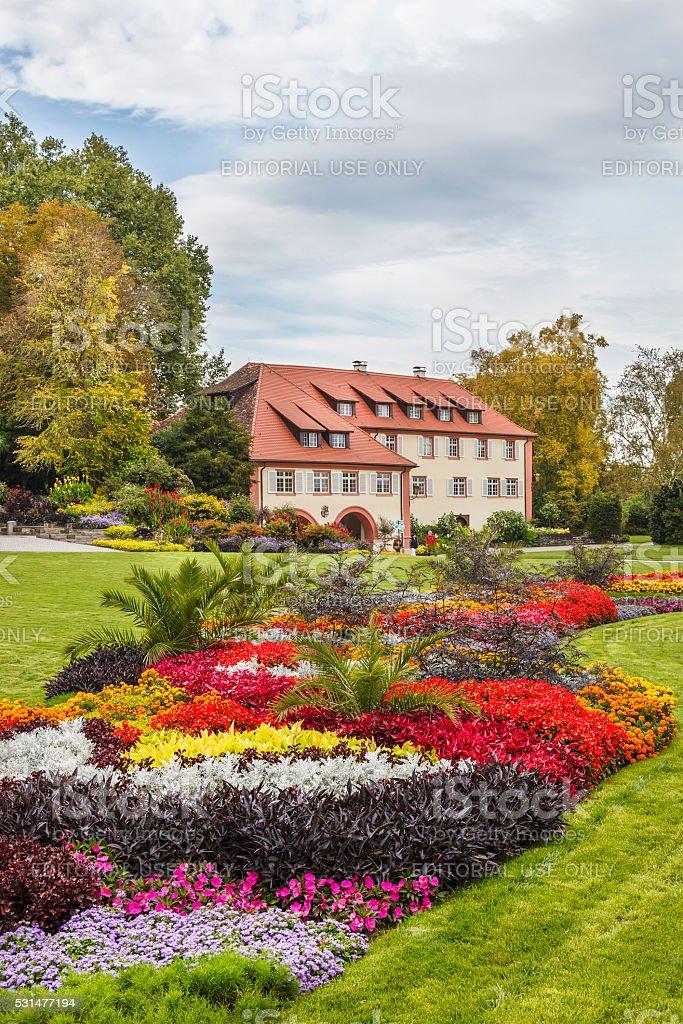 Mainau Island, Lake Constance, Germany stock photo