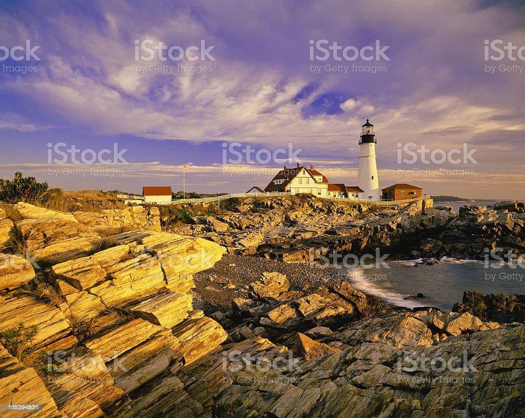 Maine Coastline royalty-free stock photo