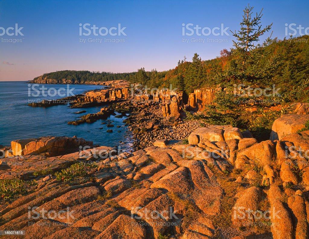 Maine Coastline- (P) royalty-free stock photo