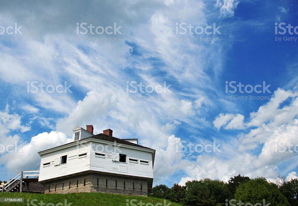 USA, Maine, Kittery, Fort McClary stock photo
