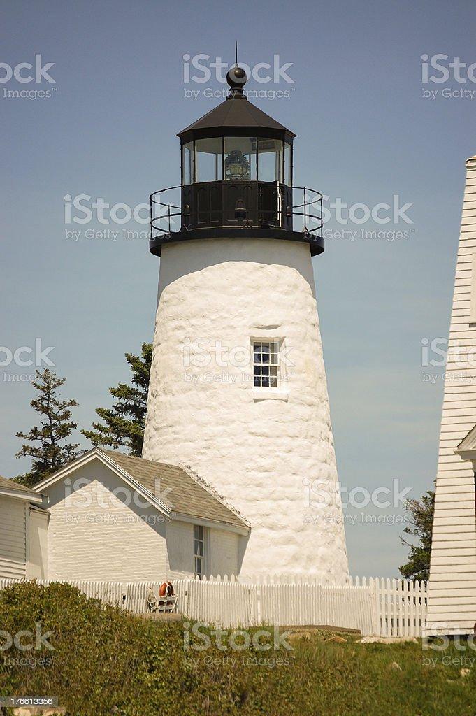 Maine Lighthouse royalty-free stock photo