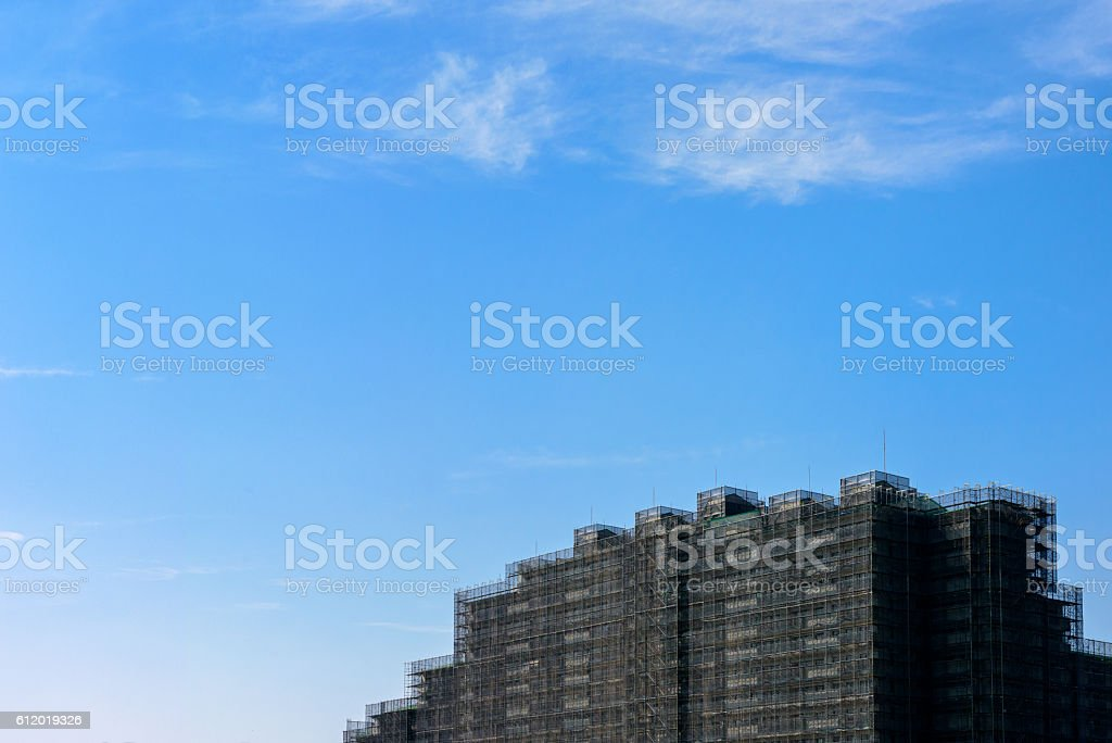 Maintenance in an apartment stock photo