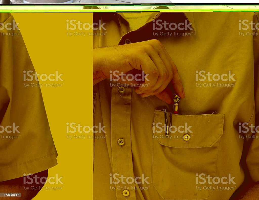 Maintenance  Man royalty-free stock photo
