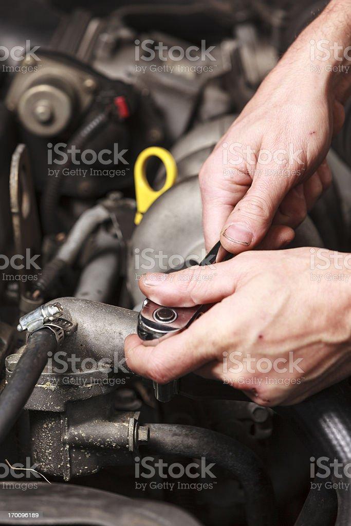 Maintenance royalty-free stock photo