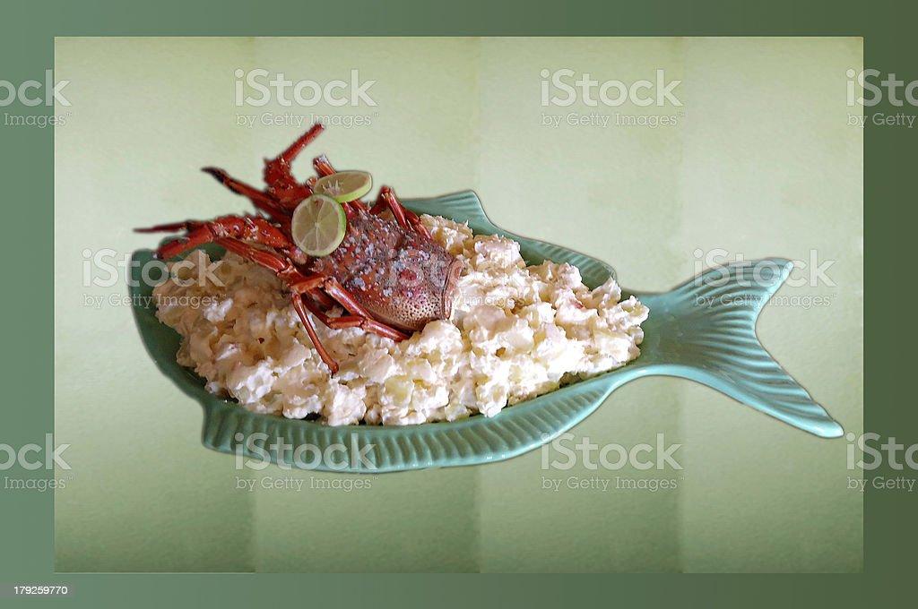 Maionese de Lagosta royalty-free stock photo