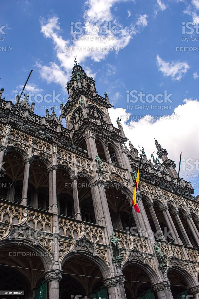 Maison du Roi/King's House Building in Brussels stock photo