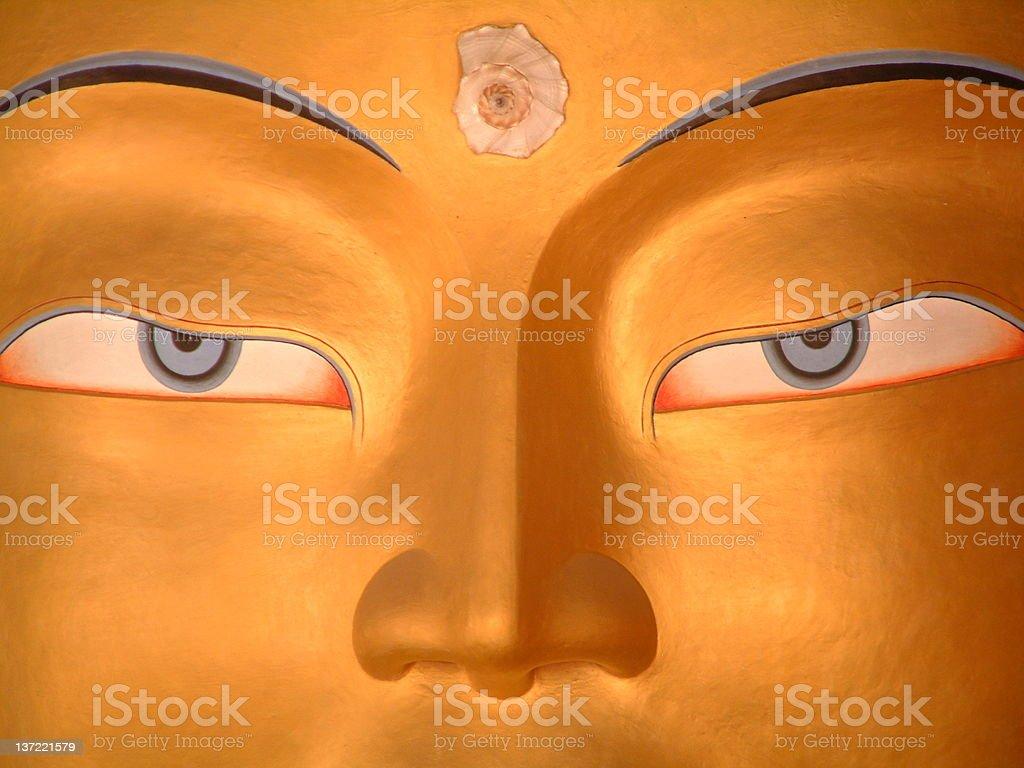 Maitreya royalty-free stock photo