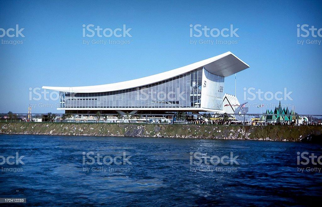 Majestic architecture stock photo