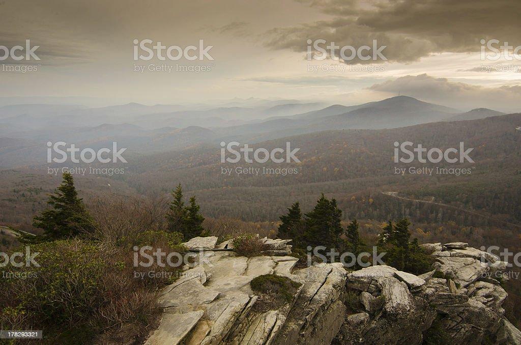 Majestic Blue Ridge Views royalty-free stock photo
