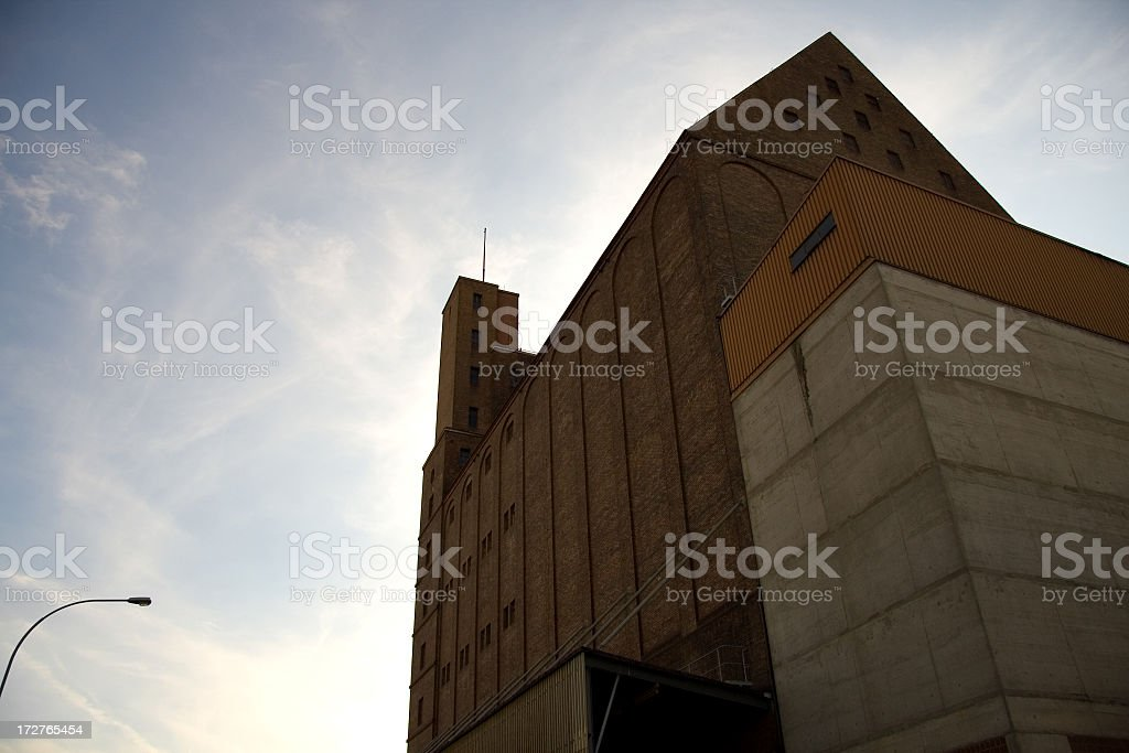 Majestic Building stock photo