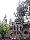 Majestic church in Bonn
