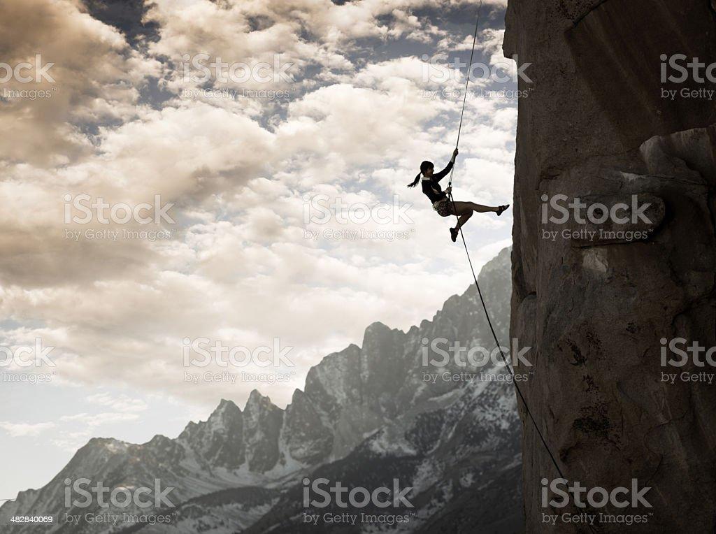 Majestic Climber stock photo