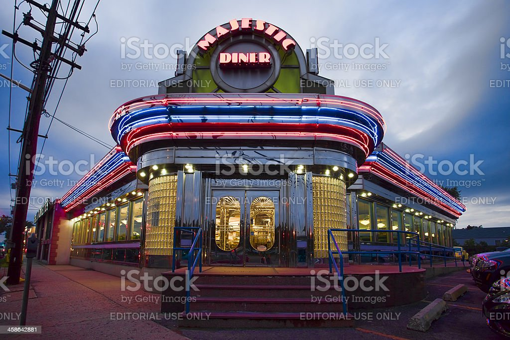 Majestic Diner stock photo