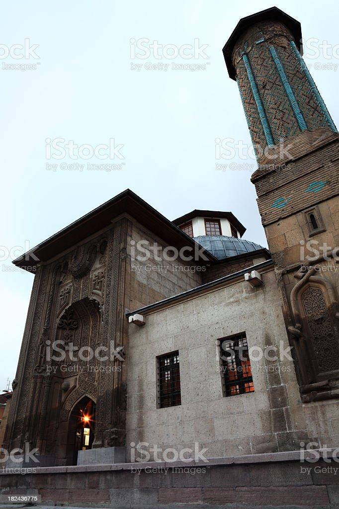 Majestic Historical Islamic Architecture of Seljuk Period, Konya stock photo