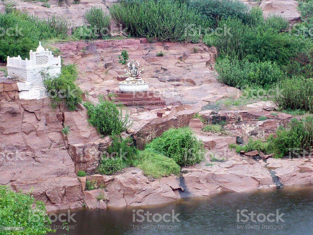 Majestic Mehrangarh Fort stock photo