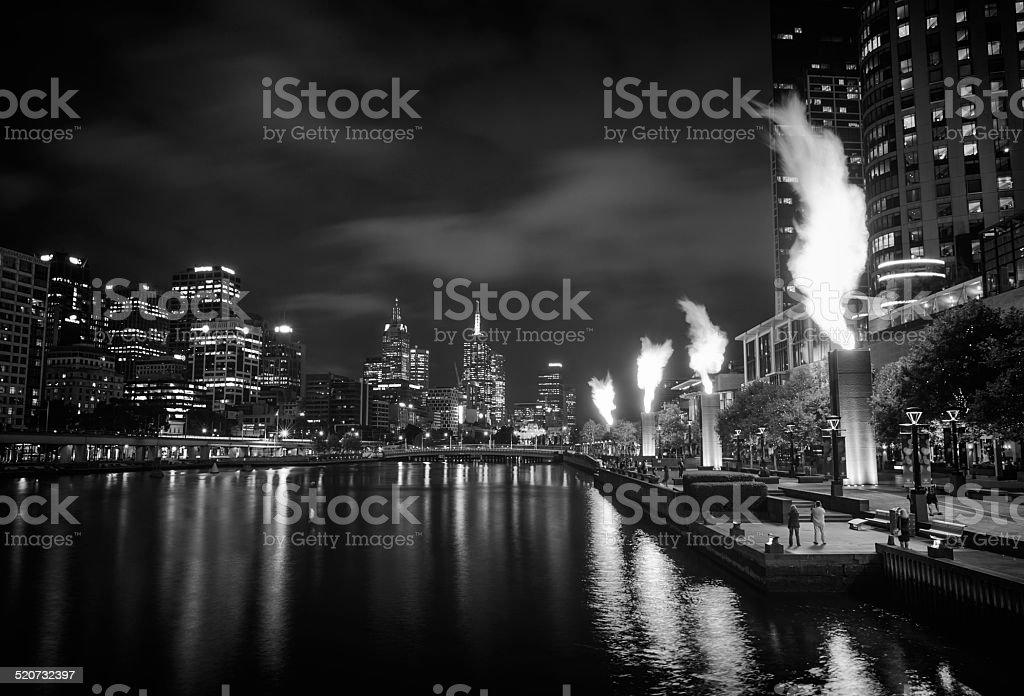 Majestic Melbourne stock photo