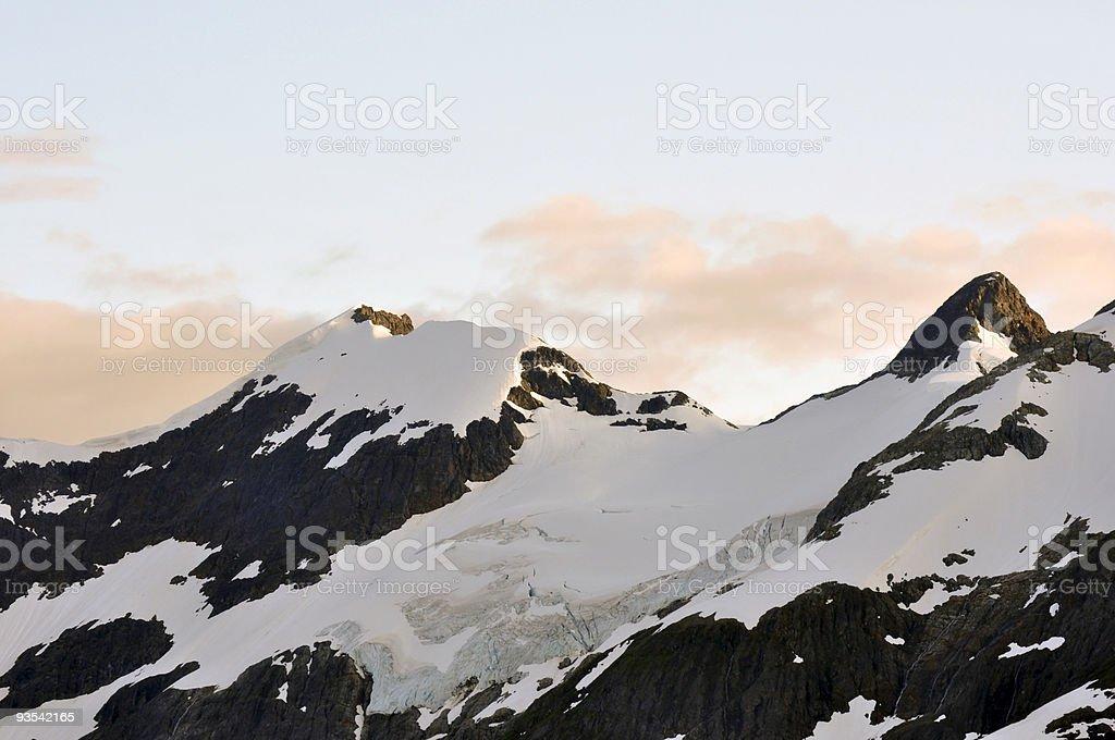 majestic mountain stock photo
