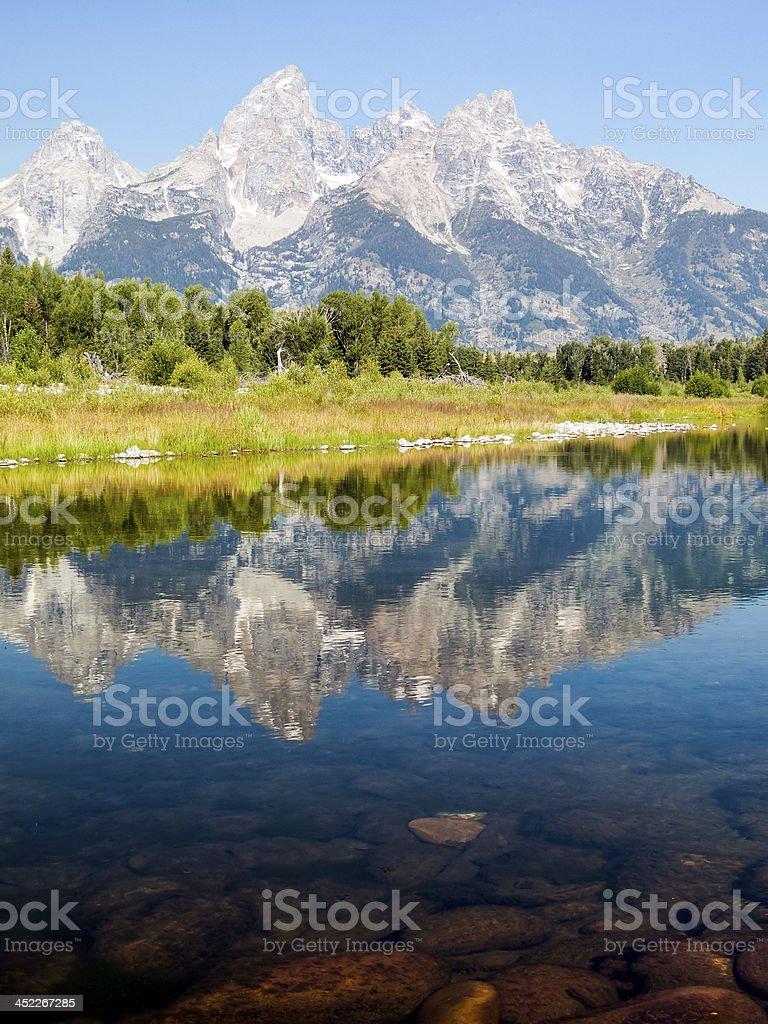 Majestic Reflection royalty-free stock photo