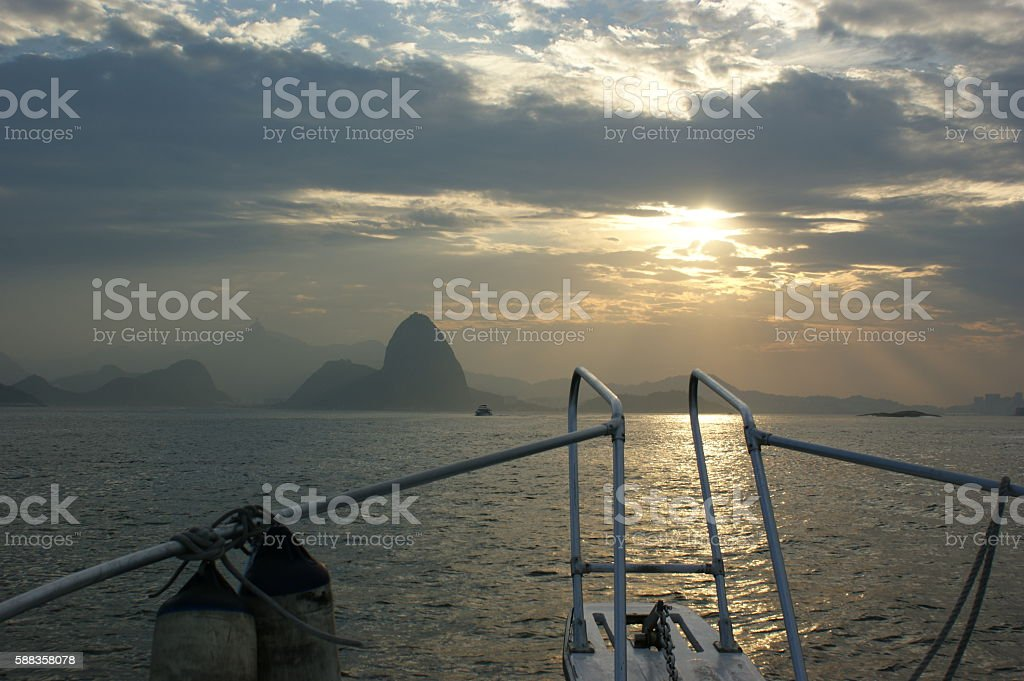 Majestic Rio stock photo