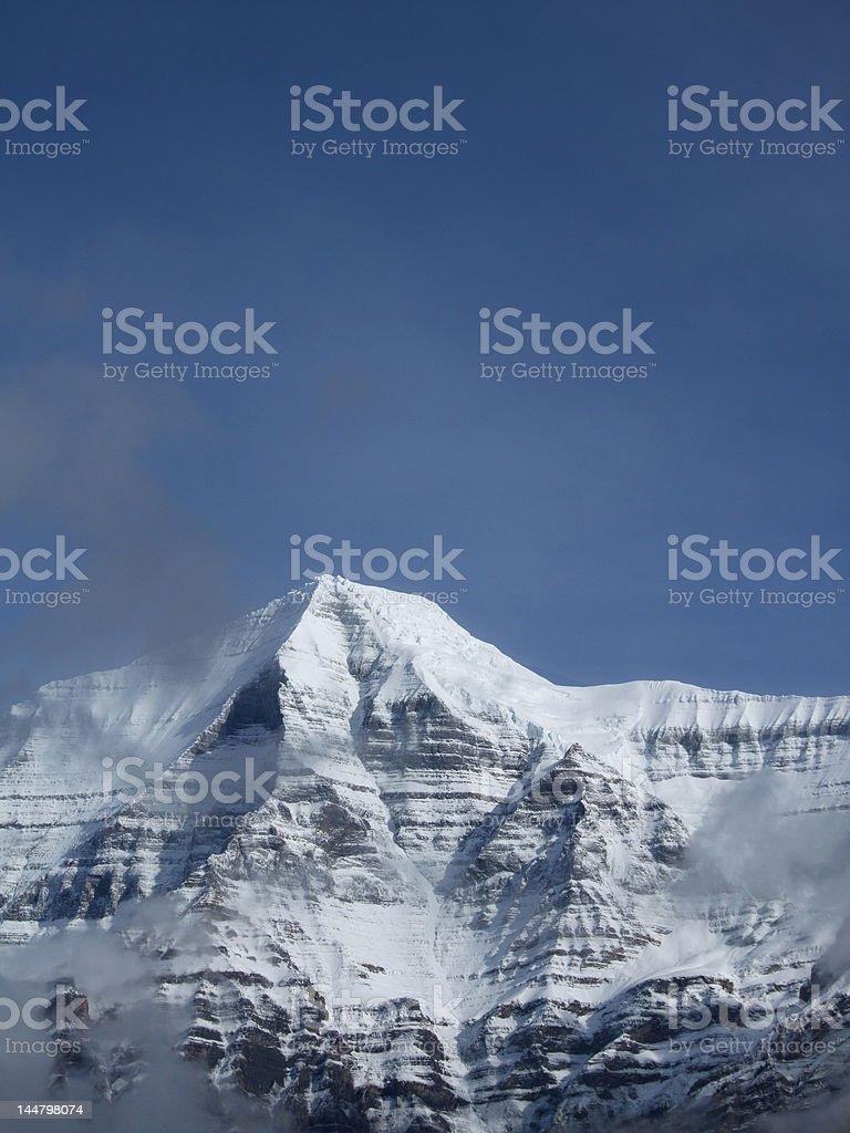 Majestic Rockies royalty-free stock photo