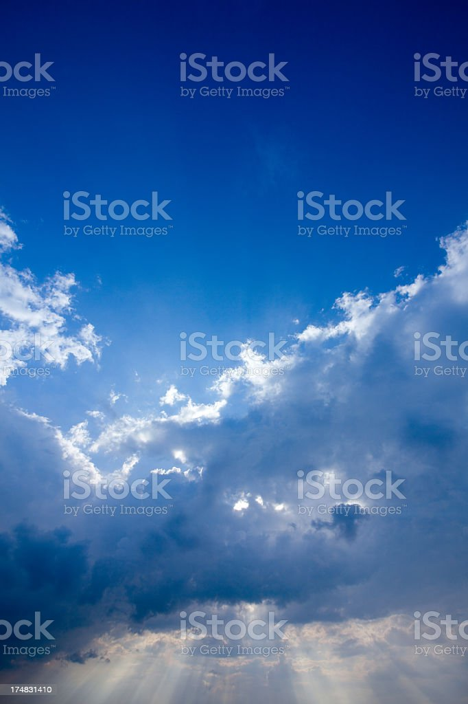 Majestic Sky royalty-free stock photo