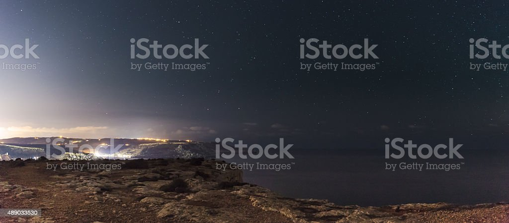 Majjistral Point stock photo