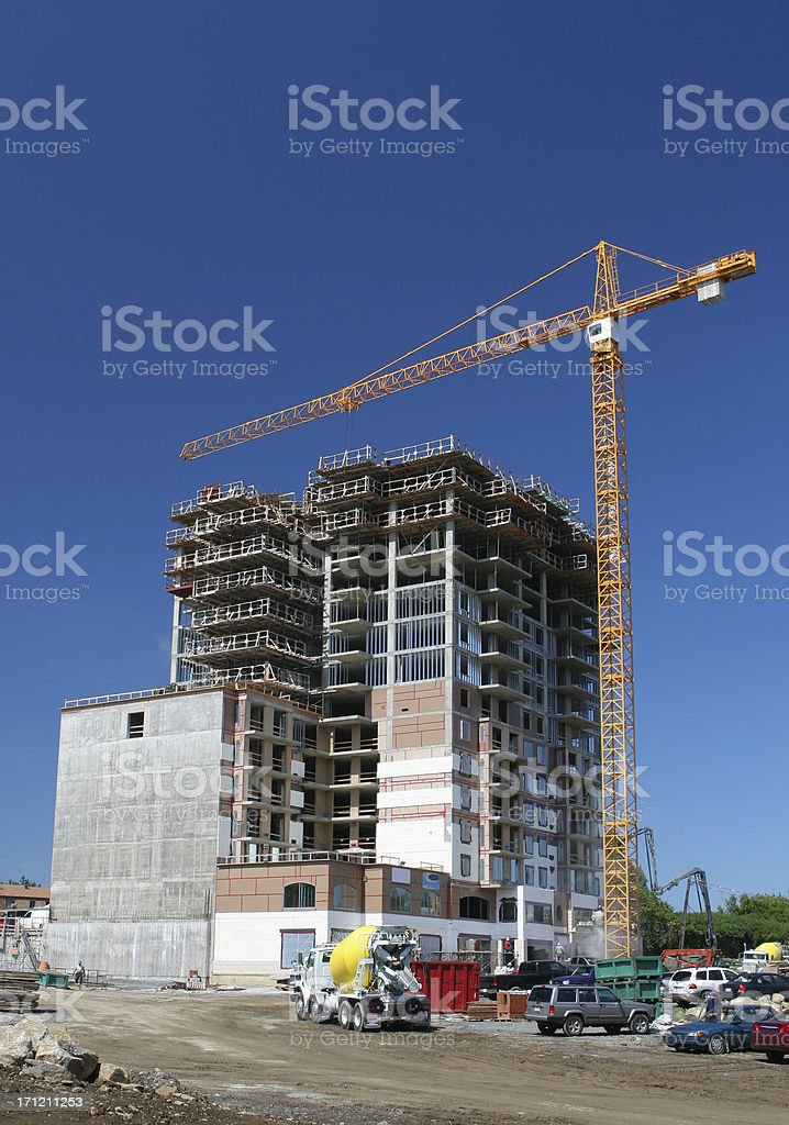 Major Construction Project royalty-free stock photo