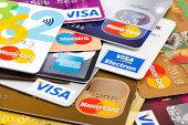 Major Credit Cards XXL