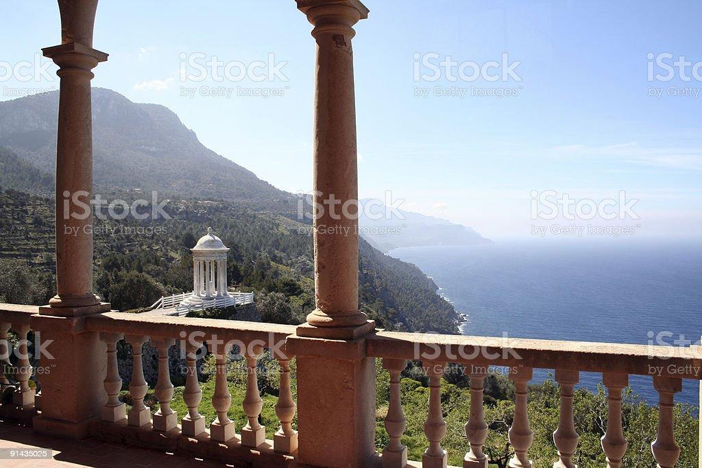 Majorca (Deia): Son Marroig #2 stock photo