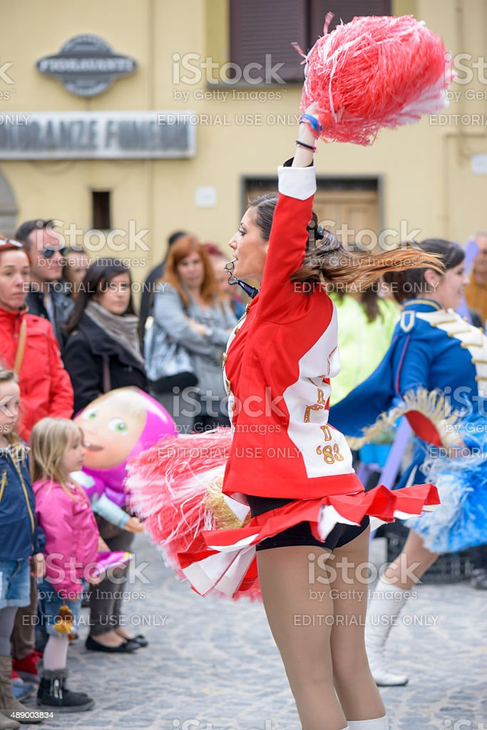 majorette stock photo