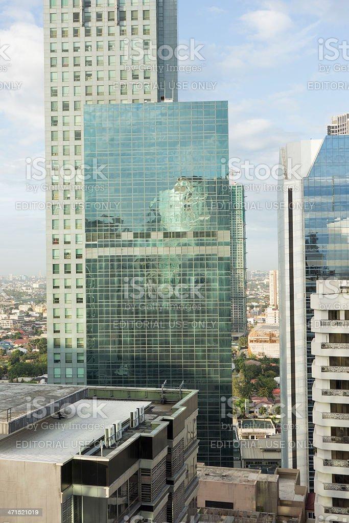 Makati City Manila royalty-free stock photo