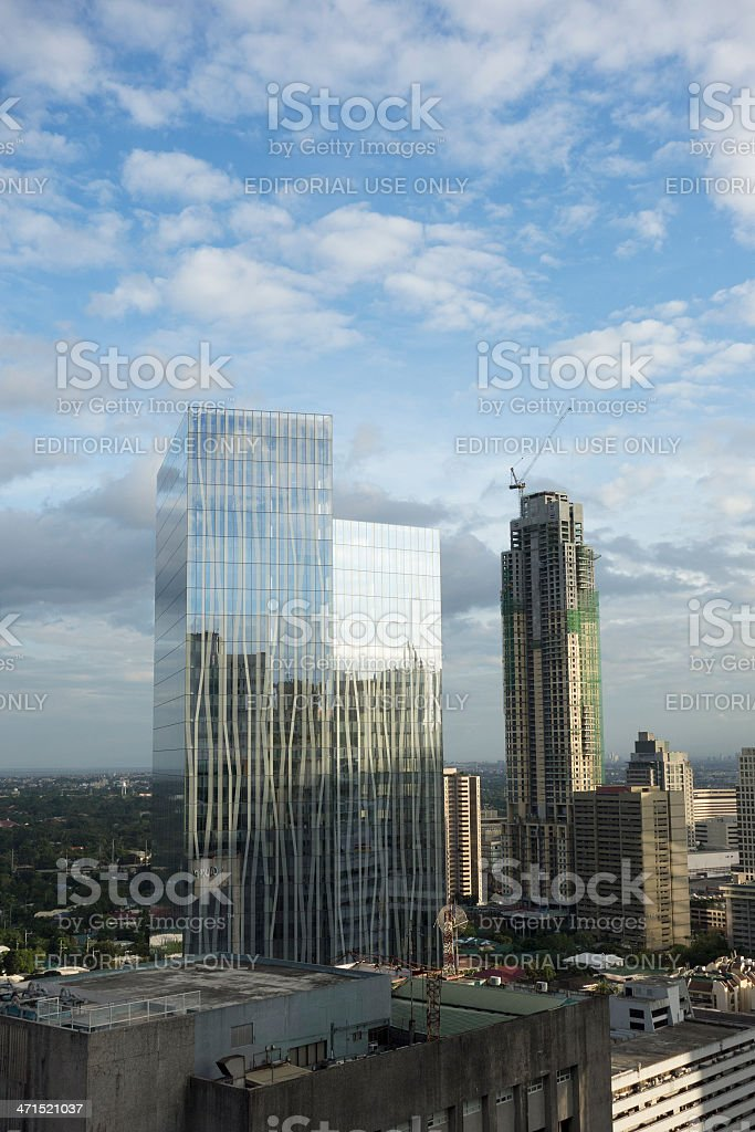 Makati City Manila royalty-free stock photo