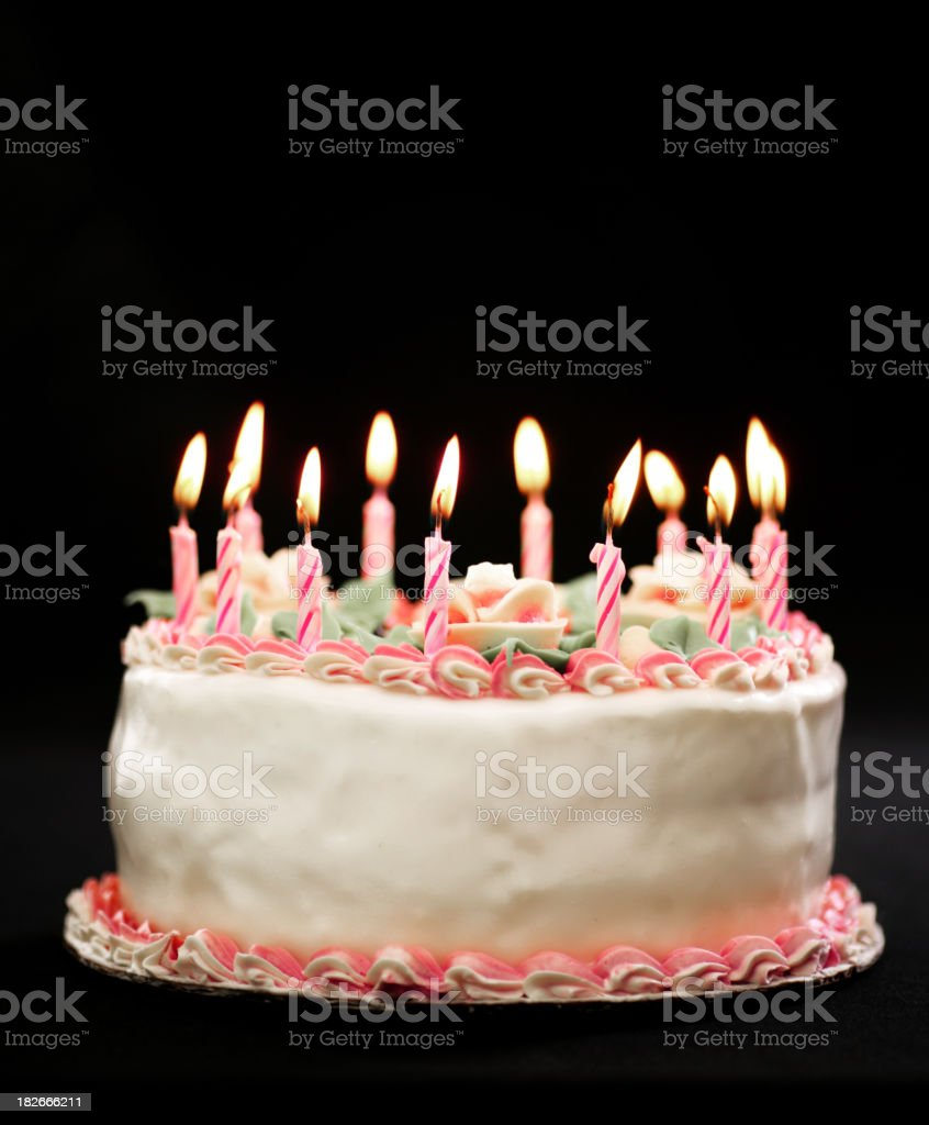 Make a wish royalty-free stock photo
