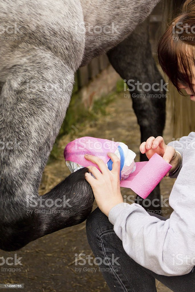 Make do and mend. stock photo