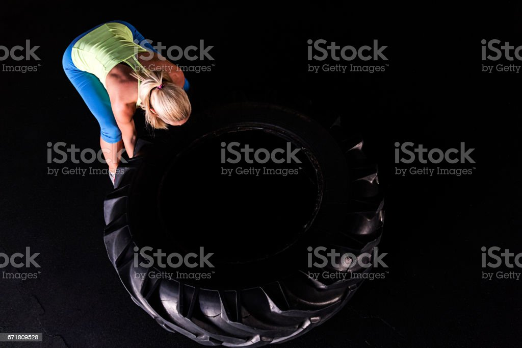 Make every lift count stock photo
